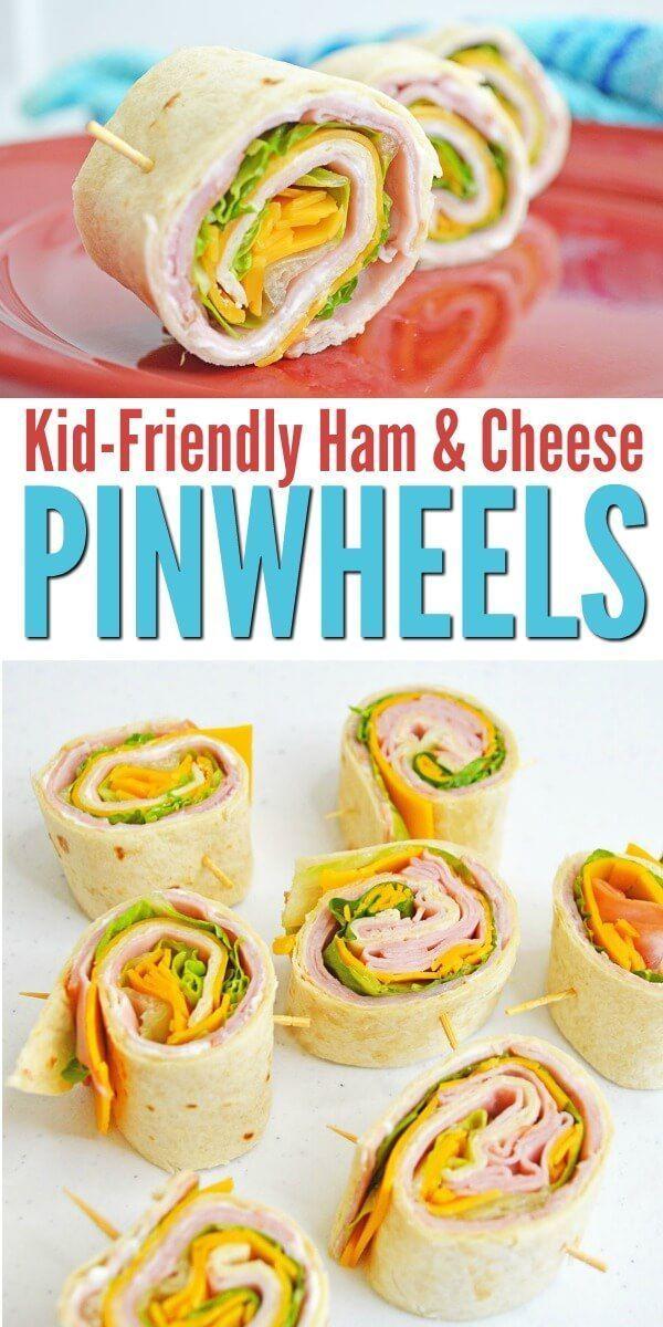 Ham and Cheese Pinwheels - Ein kinderfreundliches Mittagessen - ...