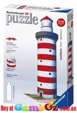 Lighthouse Ravensburger 3d Puzzle Building Puzzle Shop Ravensburger Puzzle