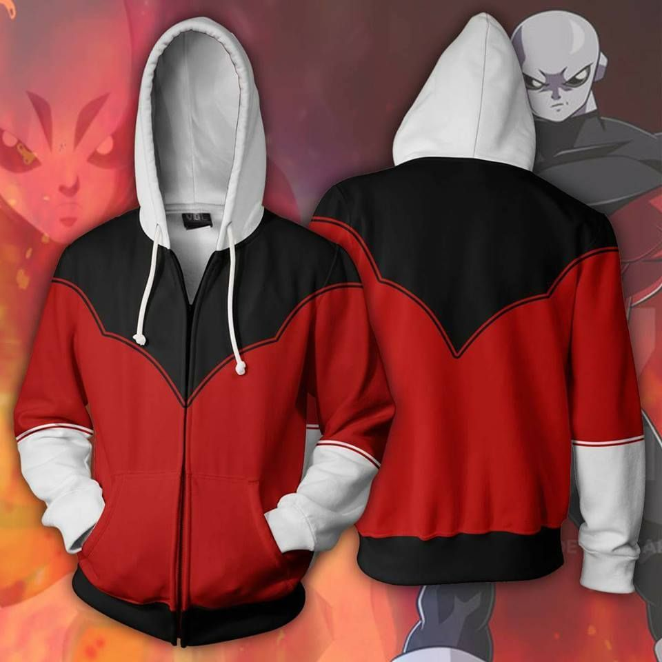 Pride Jiren 3d Zip Z Dragon Up Hoodies Trooper Hoodie Ball Armour 67qTwgO8