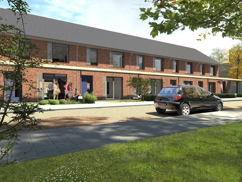 Illustraties verkoopdocumentatie woningbouwproject Vogelbuurt - Vaassen    Opdrachtgever: Triada Woondiensten.