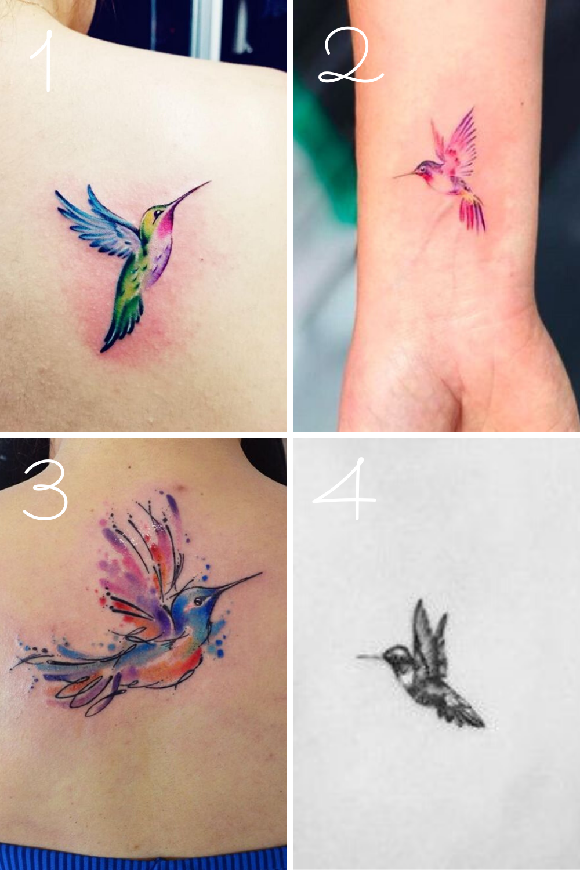 Hummingbird Tattoo Ideas : hummingbird, tattoo, ideas, Prettiest, Hummingbird, Tattoo, Ideas, Tattooglee, Tattoo,, Colorful, Small