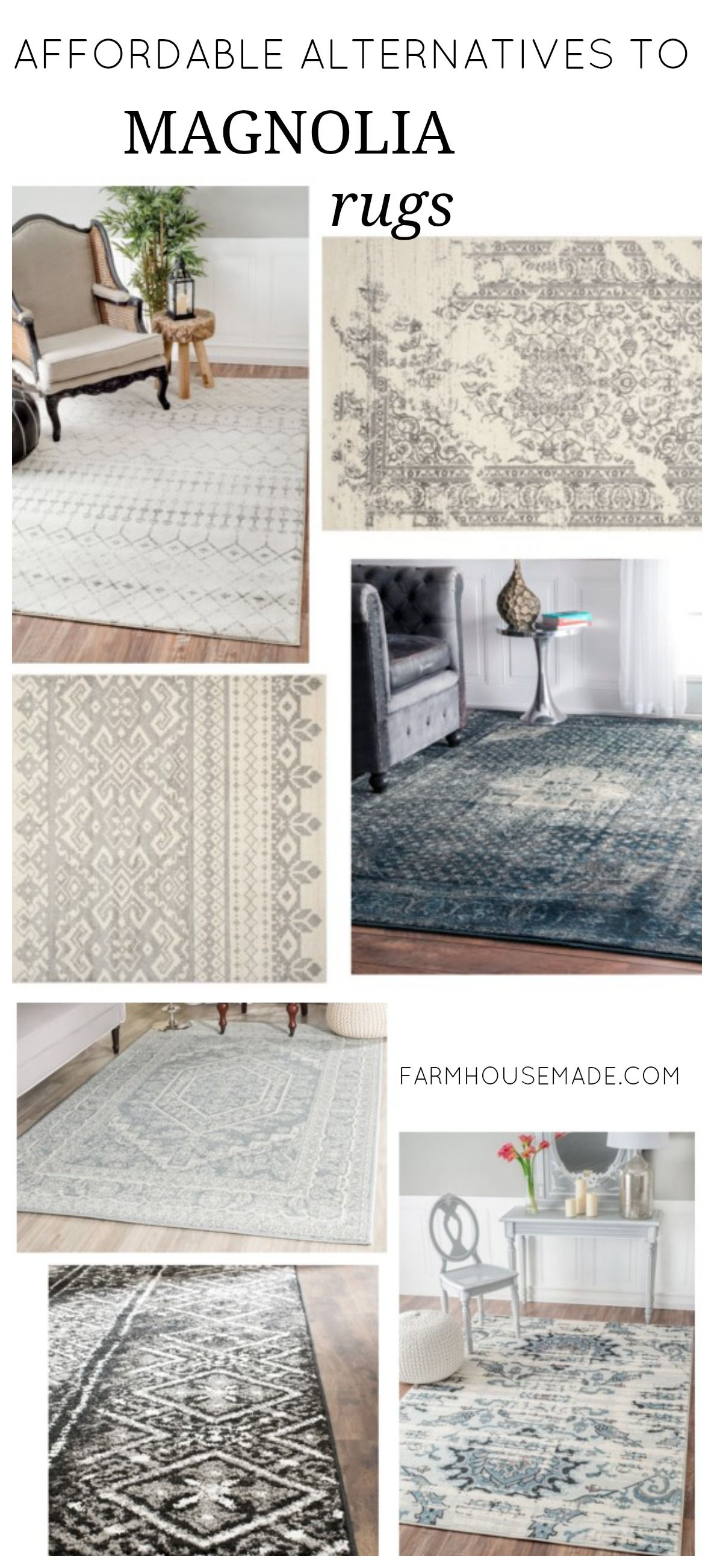 What To Do When You Can T Afford Joanna S Rugs Farmhouse Rugs