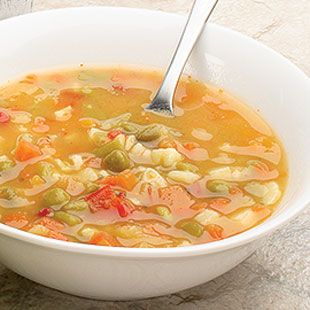 Eat Bouillon-Based Soup