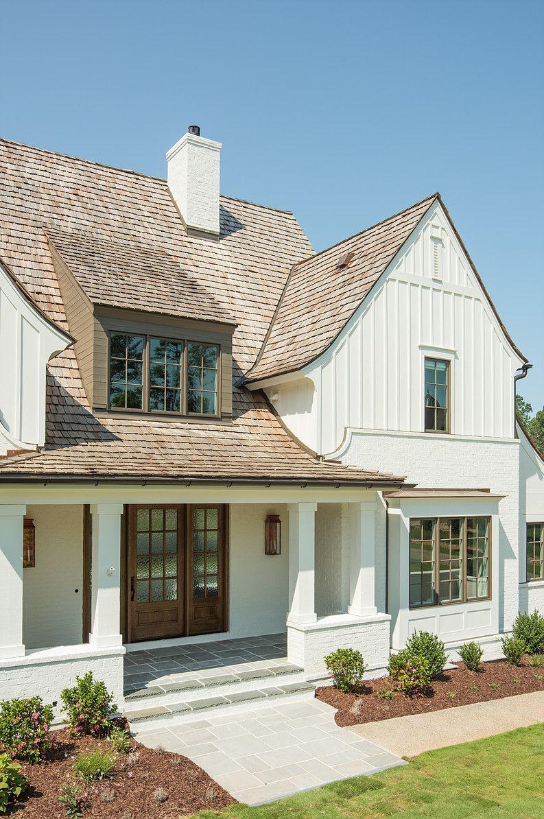 New Old Custom Home Modern farmhouse exterior, House
