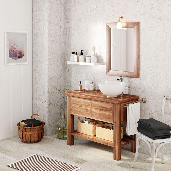 ¿Cómo decorar un baño al estilo rústico?   Muebles de ...