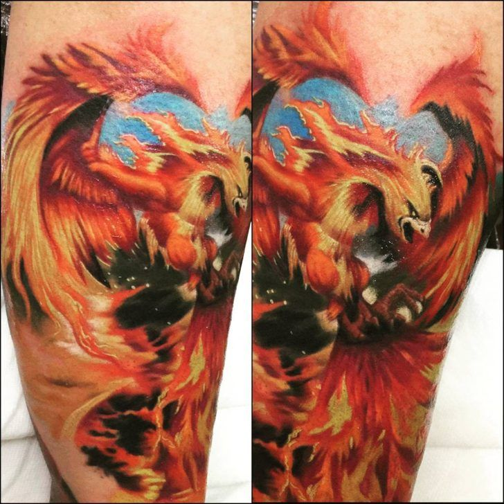 phoenix tattoo designs the coolest symbol for tattoo. Black Bedroom Furniture Sets. Home Design Ideas