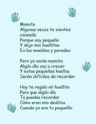 79ef1f2ef Mama Frase Poemas Infantil
