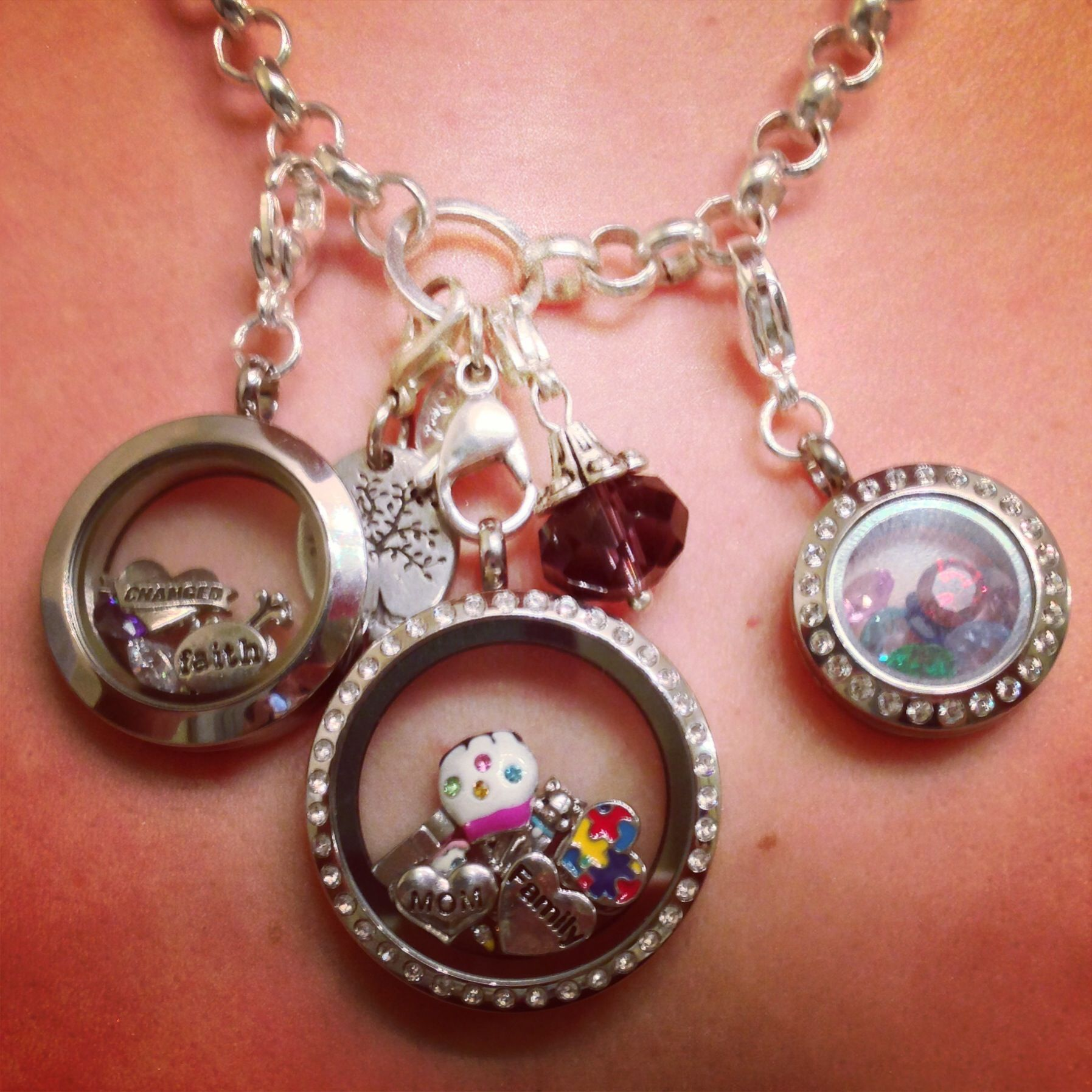 Origami owl lockets origami owl marlett gives a hoot pinterest my origami owl lockets small large and medium jeuxipadfo Image collections