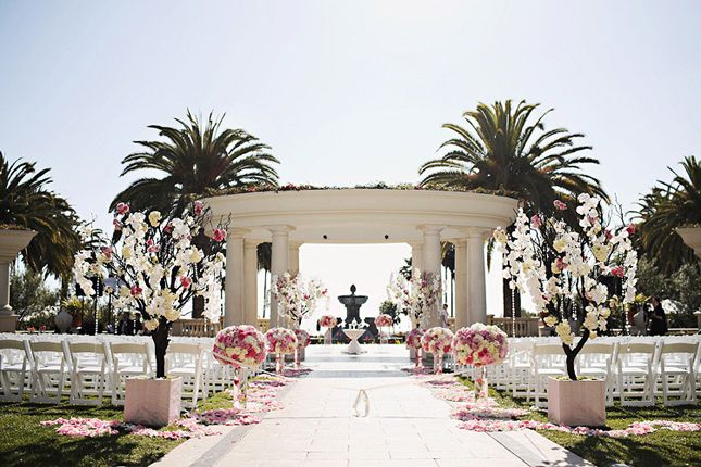 Gorgeous Outdoor Wedding Ceremonies Belle The Magazine