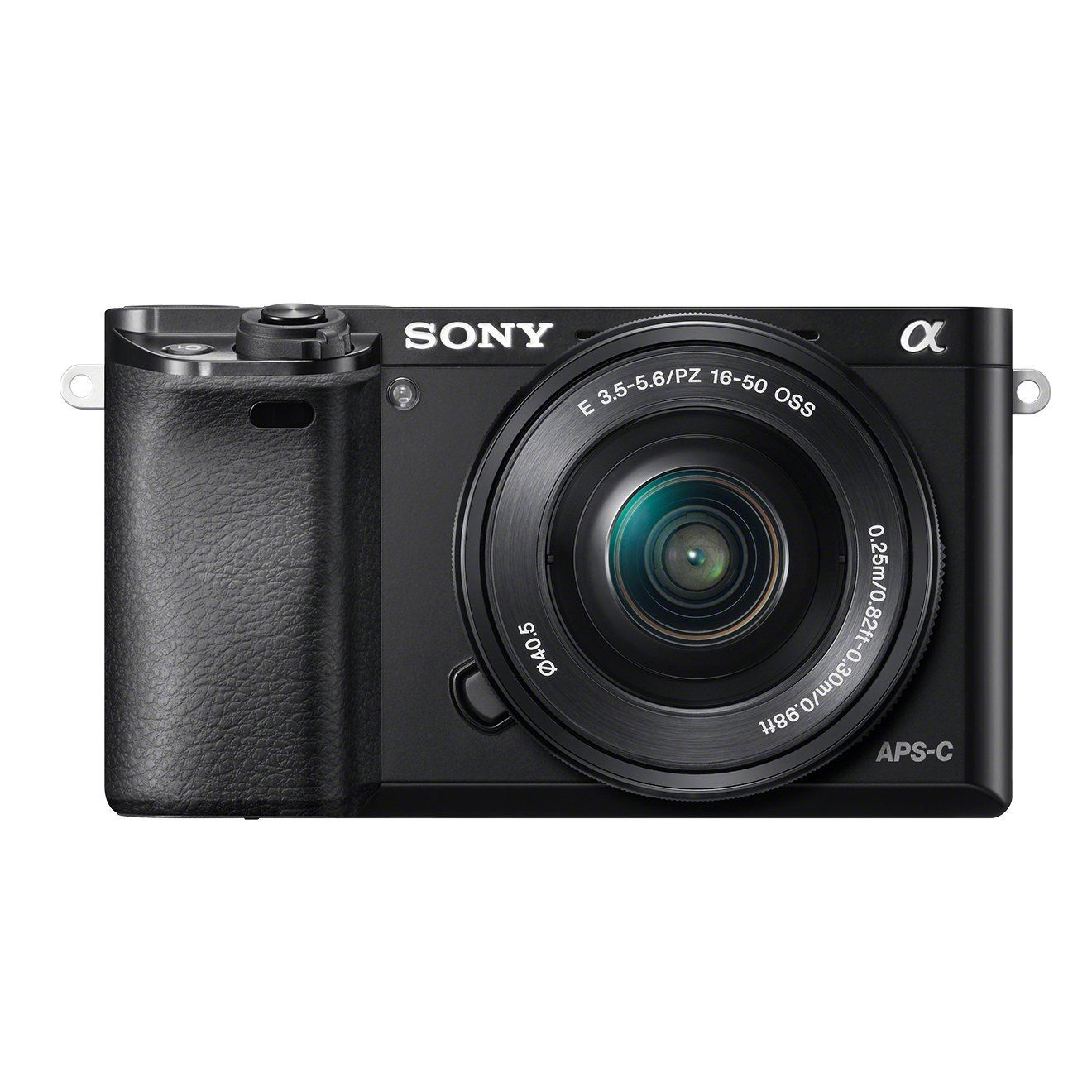 Sony ILCE6000LB Compact System Camera with SELP1650 Lens Kit (Fast Auto Focus, 24.3 MP, Electronic View Finder, Wi-Fi and NFC) - Black