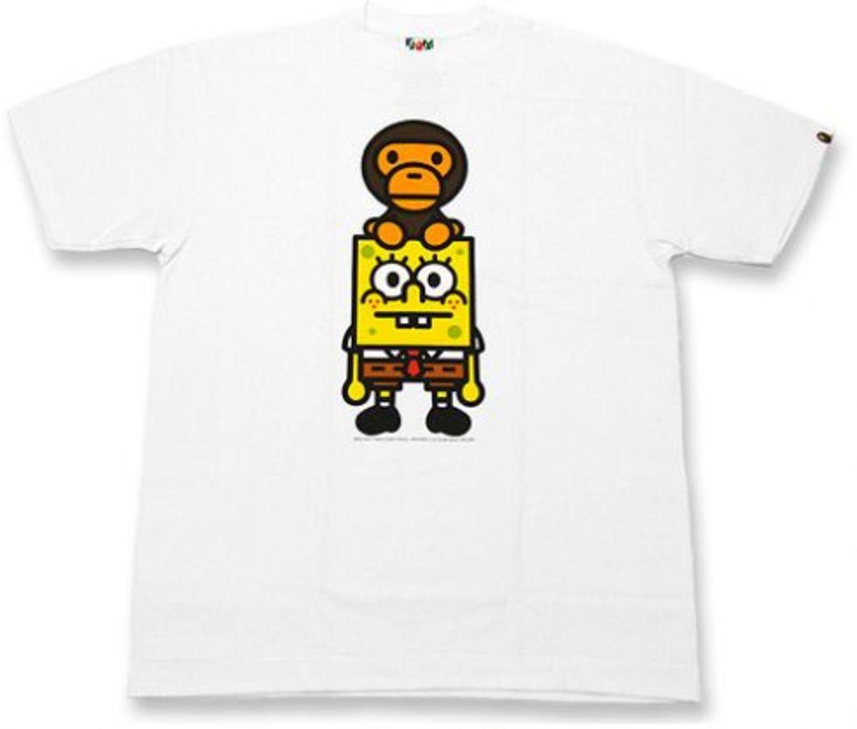 aa03fad5 BAPE x SpongeBob - New Baby Milo T-Shirt | Ideas for the house ...