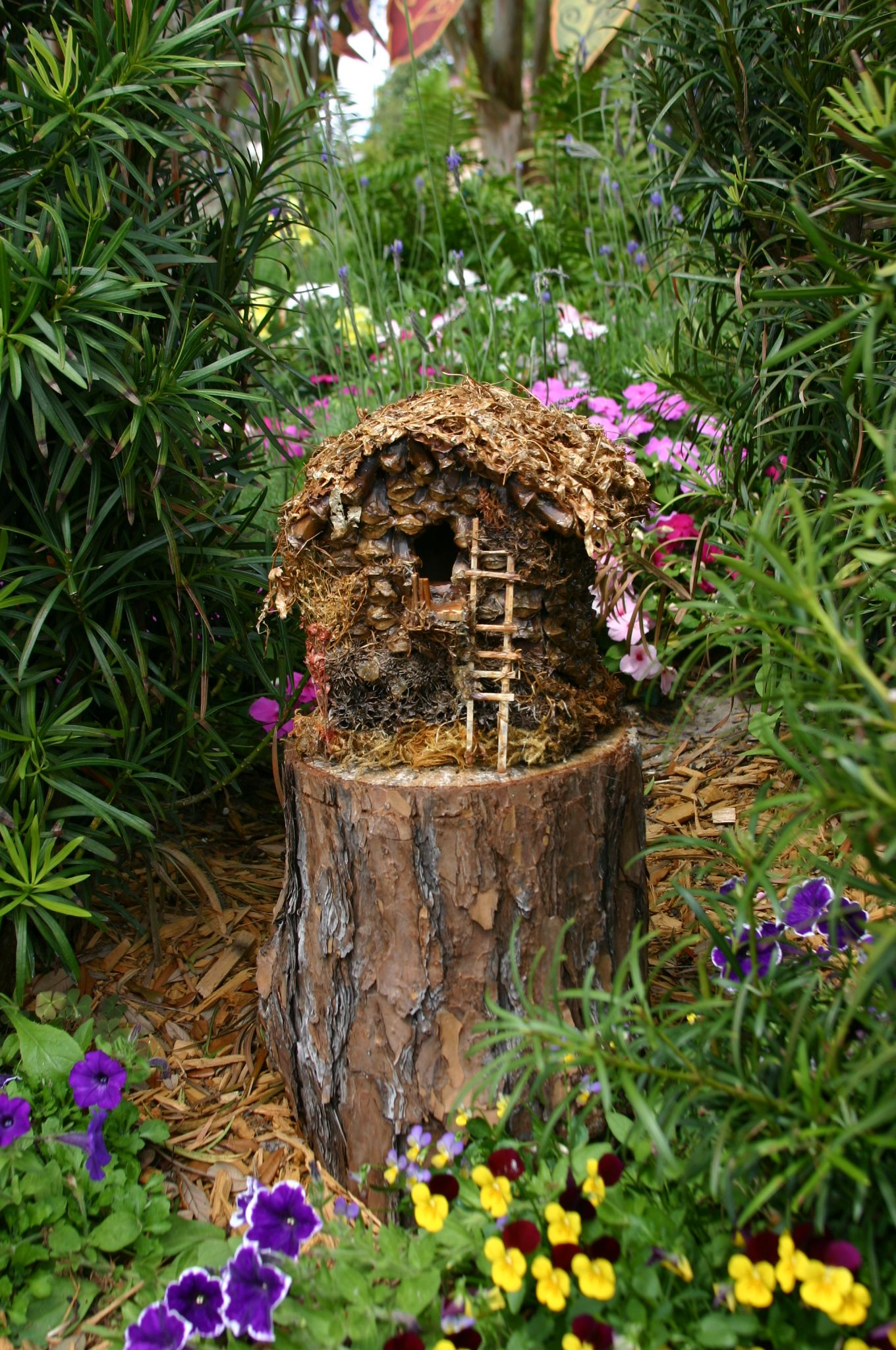 Fairy House ~ Epcot Flower and Garden Festival | Gardening with Lu ...