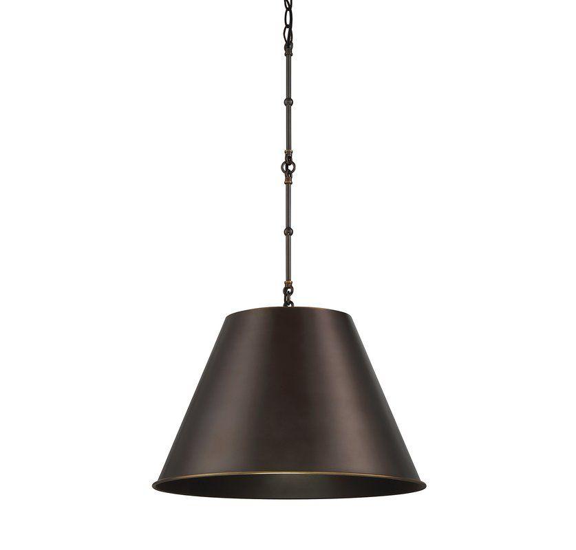 Nadeau 1 Light Single Cone Pendant Single Pendant Lighting Pendant Lighting Pendant Light