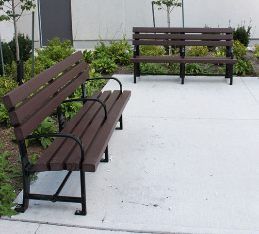 Dumor Bench Model 98pl Kitchener Cast Iron Supports