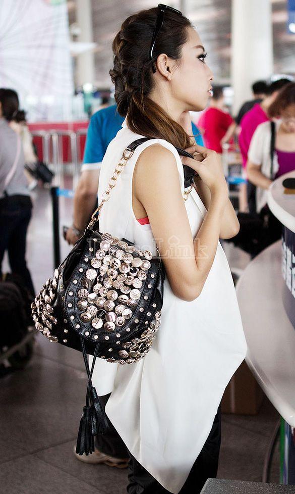 Women's Retro Fashion PU Leather Shoulder Bag