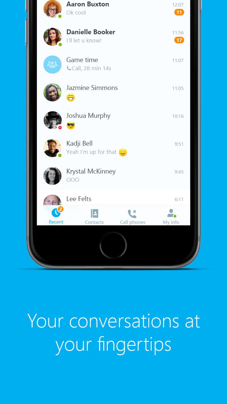 Skype Gets 3d Touch Support Video Filters Improved Conversation