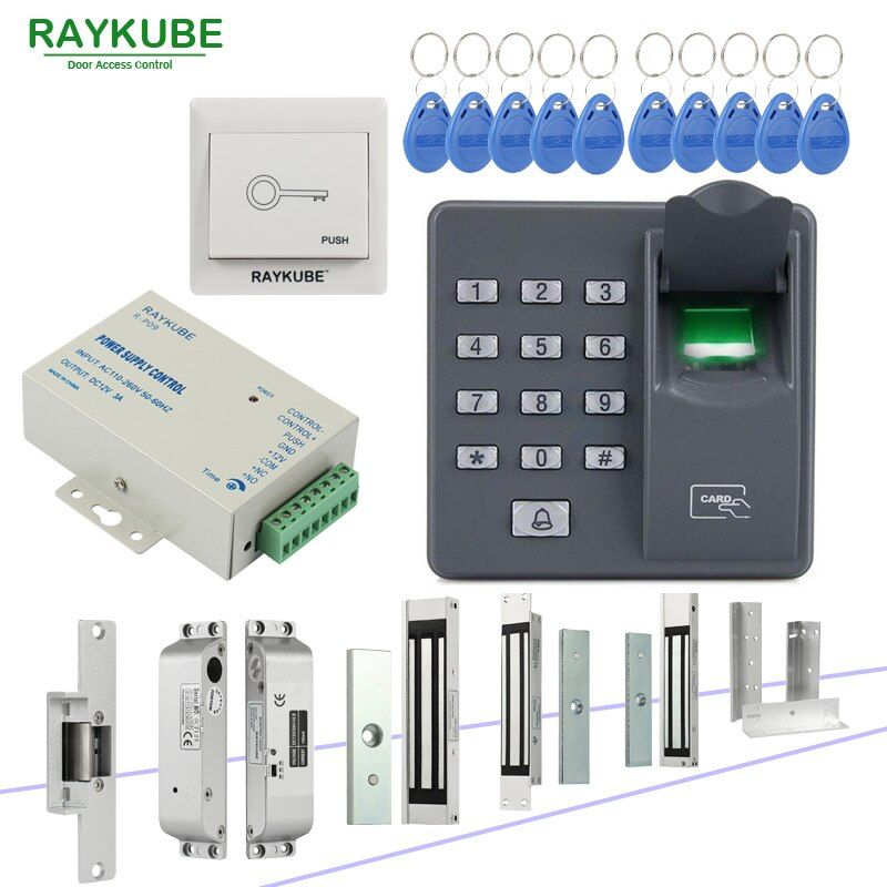 Best Chance Of Raykube Door Access Control System With Biometric Fingerprint Reader Electronic Lock Rfid Secu Access Control Electronic Lock Door Lock Security
