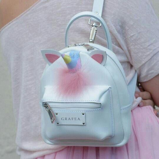 Unicorn Mini Zippy Backpack | Sacos, Mochilas fofas e