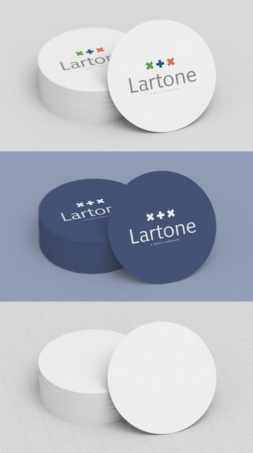 Free round business card mockup by creative particles free round business card mockup by creative particles businesscardszone flashek Image collections