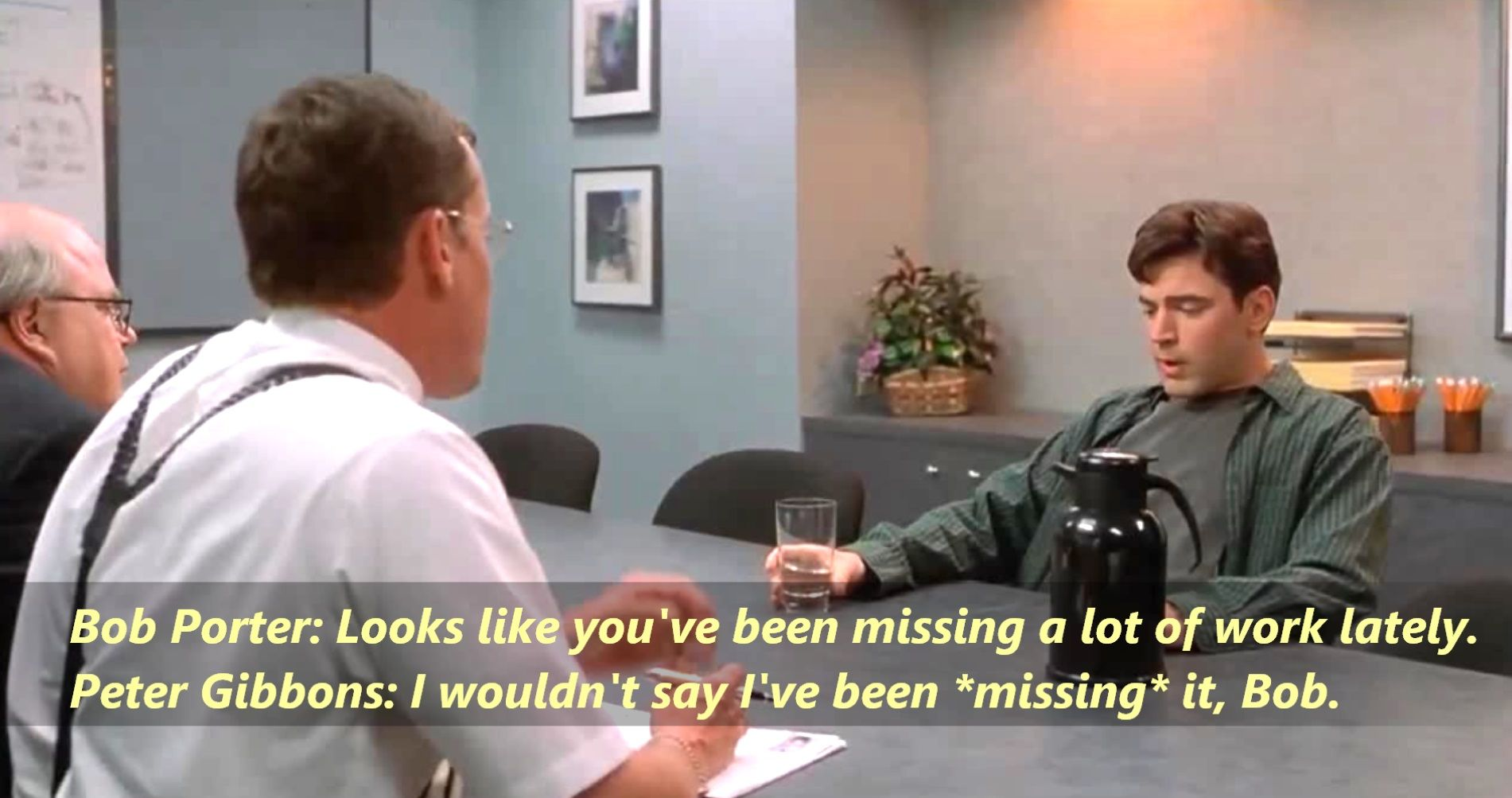 Office Space Quotes Office Space 1999 Httpswww.facebookquotes2Reminisce