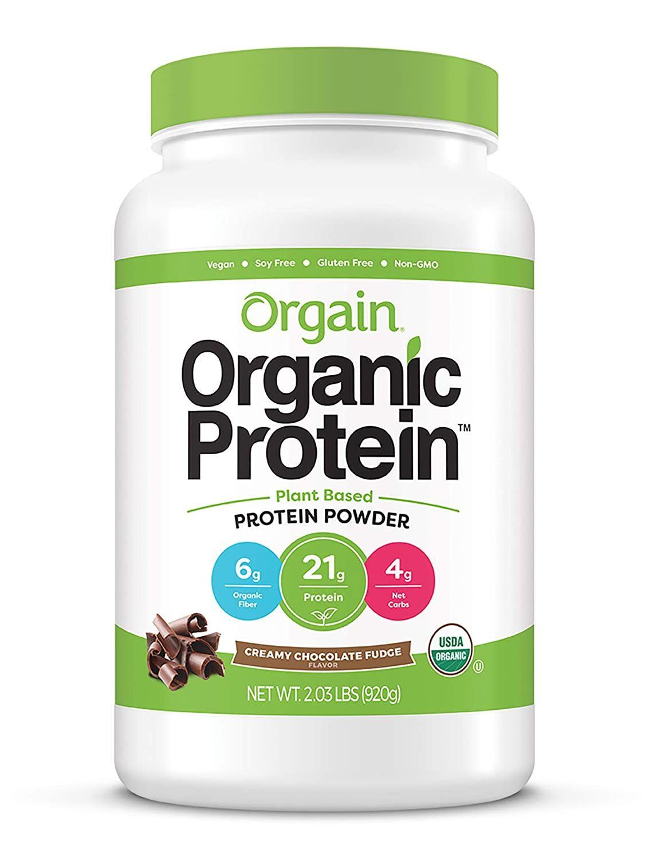Orgain Organic Plant Bases Protein Powder In 2020 Plant Based Protein Powder Organic Protein Powder Best Vegan Protein Powder
