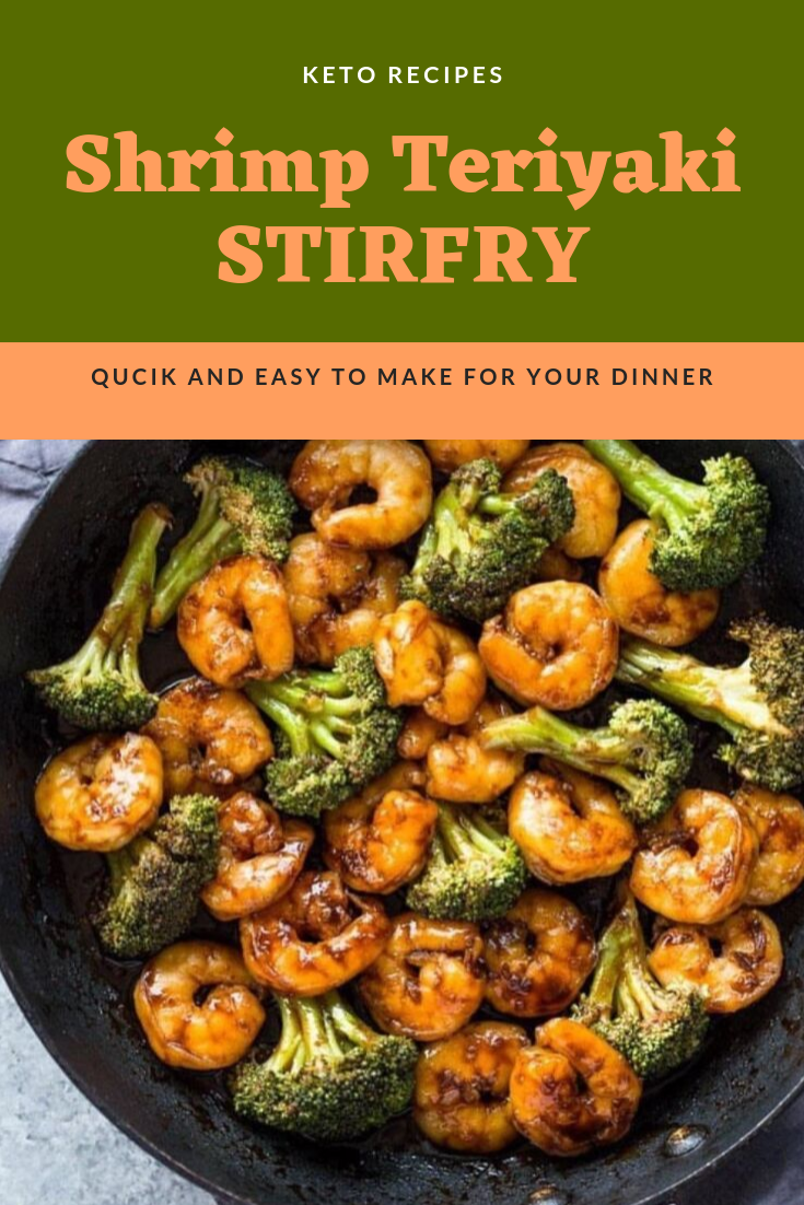 Quick 10 Minute Shrimp Teriyaki Stir-Fry Recipes