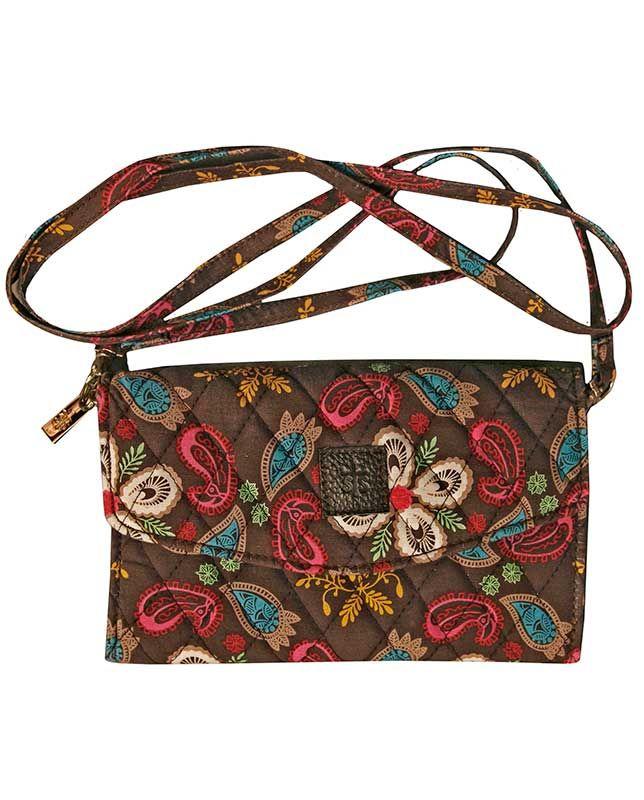 cb4e5381e5e9 Sassperella Wallet - Quilted Fabric Handbags   Wallets - Accessories  similar to Vera Bradley
