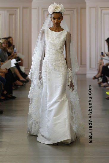 12. Weiße brautkleider Oscar De La Renta | Brautkleider | Pinterest