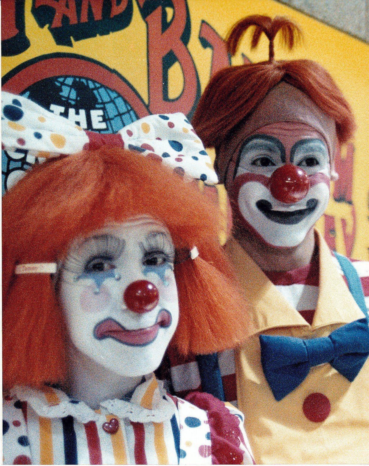 TOM & TAMMY PARISH   Famous clowns, Female clown, Clown
