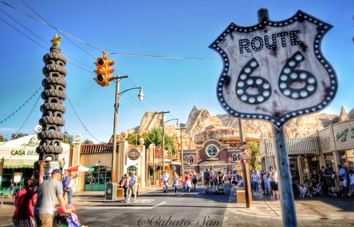 radiator springs. route 66 (california adventure) | photography by