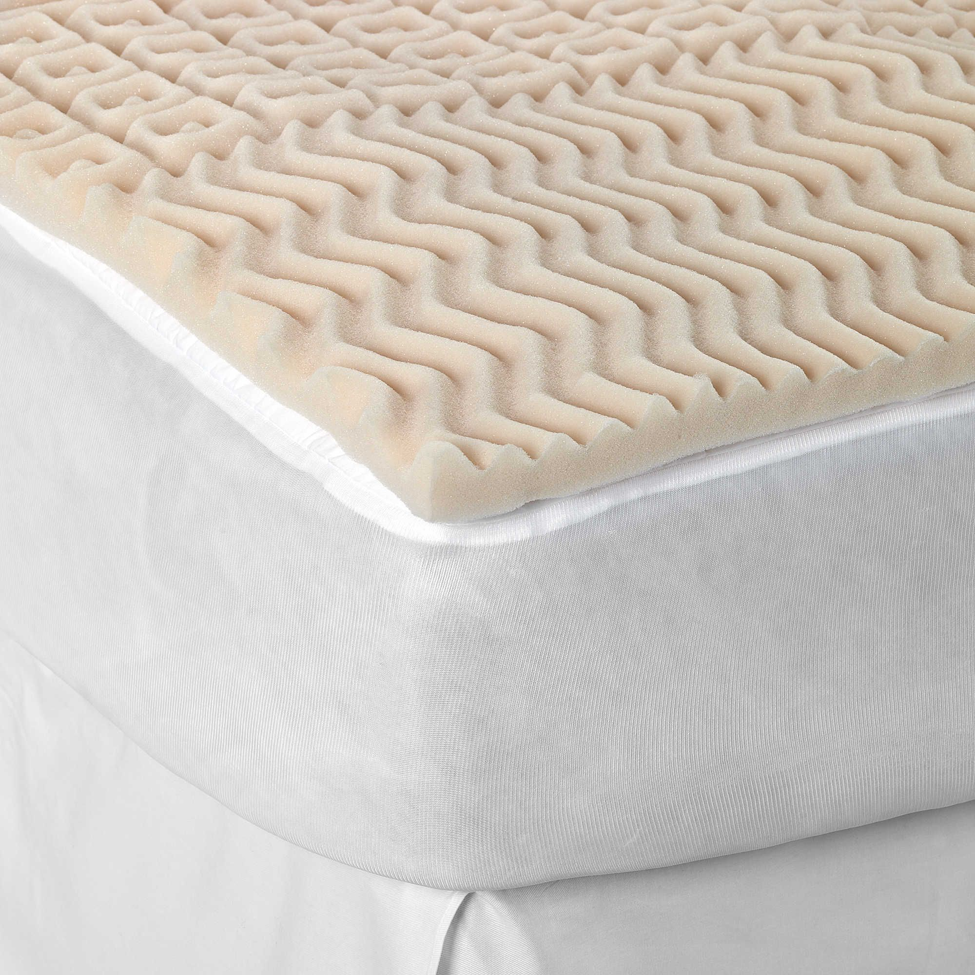 Sleep Zone 5 Zone Egg Crate Foam Mattress Topper Projects To Try