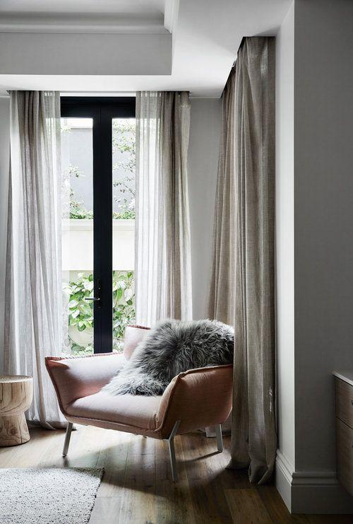 think pink home inspiration pinterest vorh nge gardinen und wohnzimmer. Black Bedroom Furniture Sets. Home Design Ideas