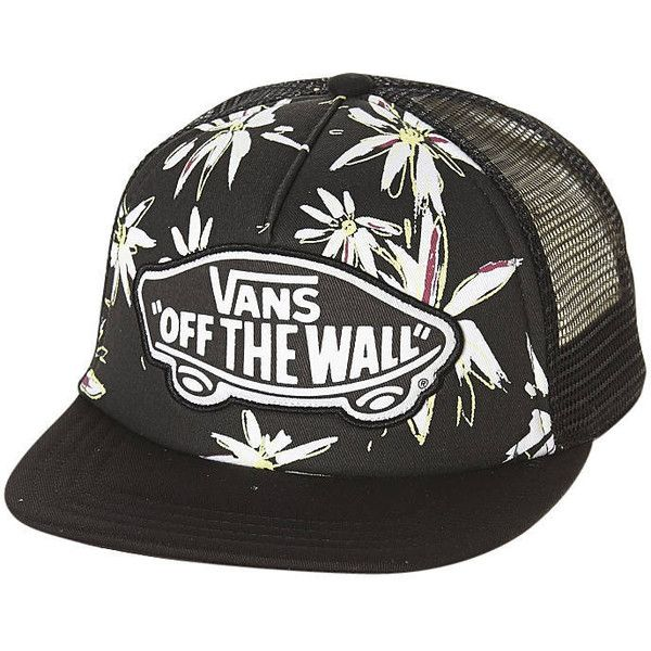 5cd0c4f1ad0 Vans Beach Girl Trucker Cap ( 13) ❤ liked on Polyvore featuring ...