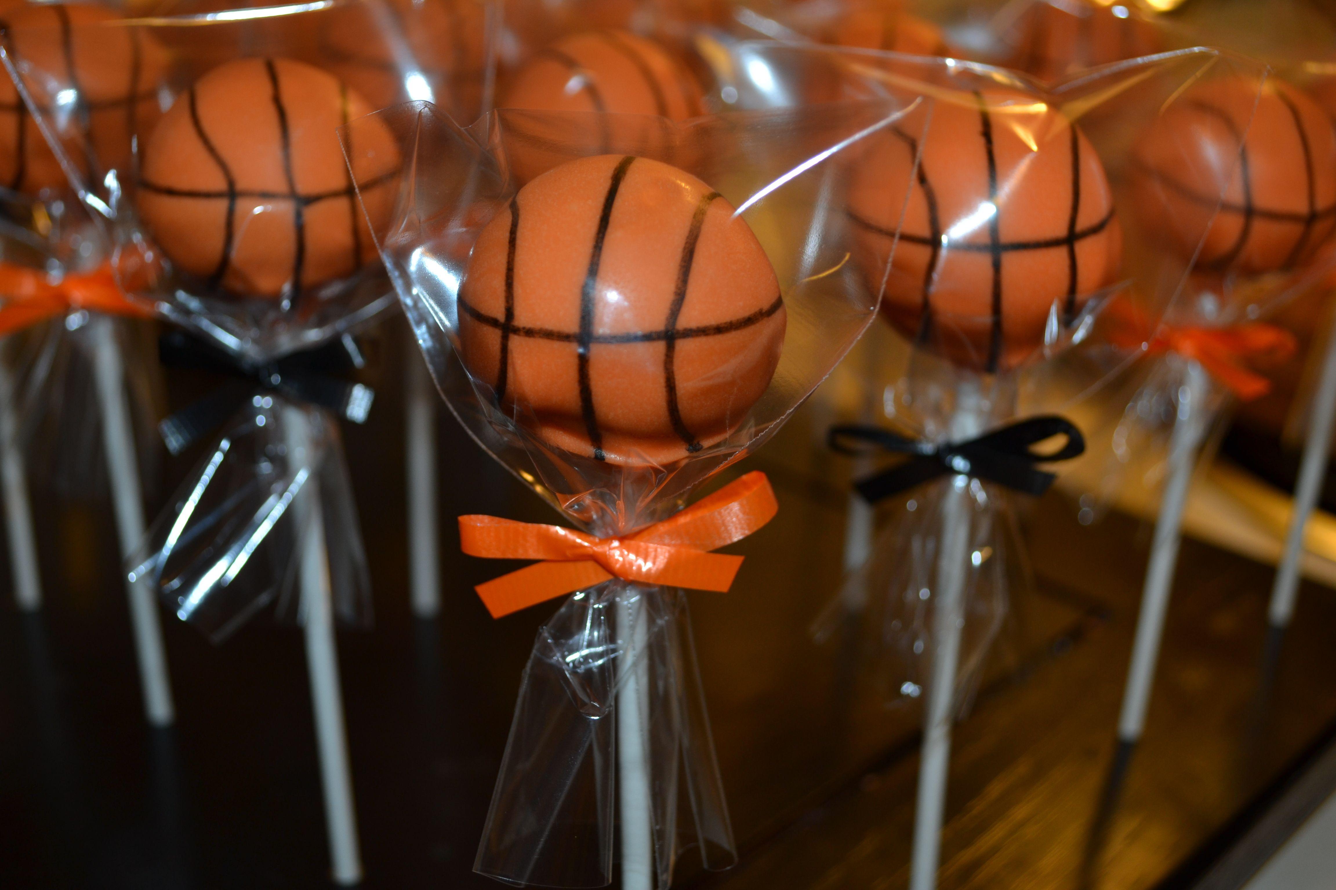 Basketball cake pops basketball cake pops basketball