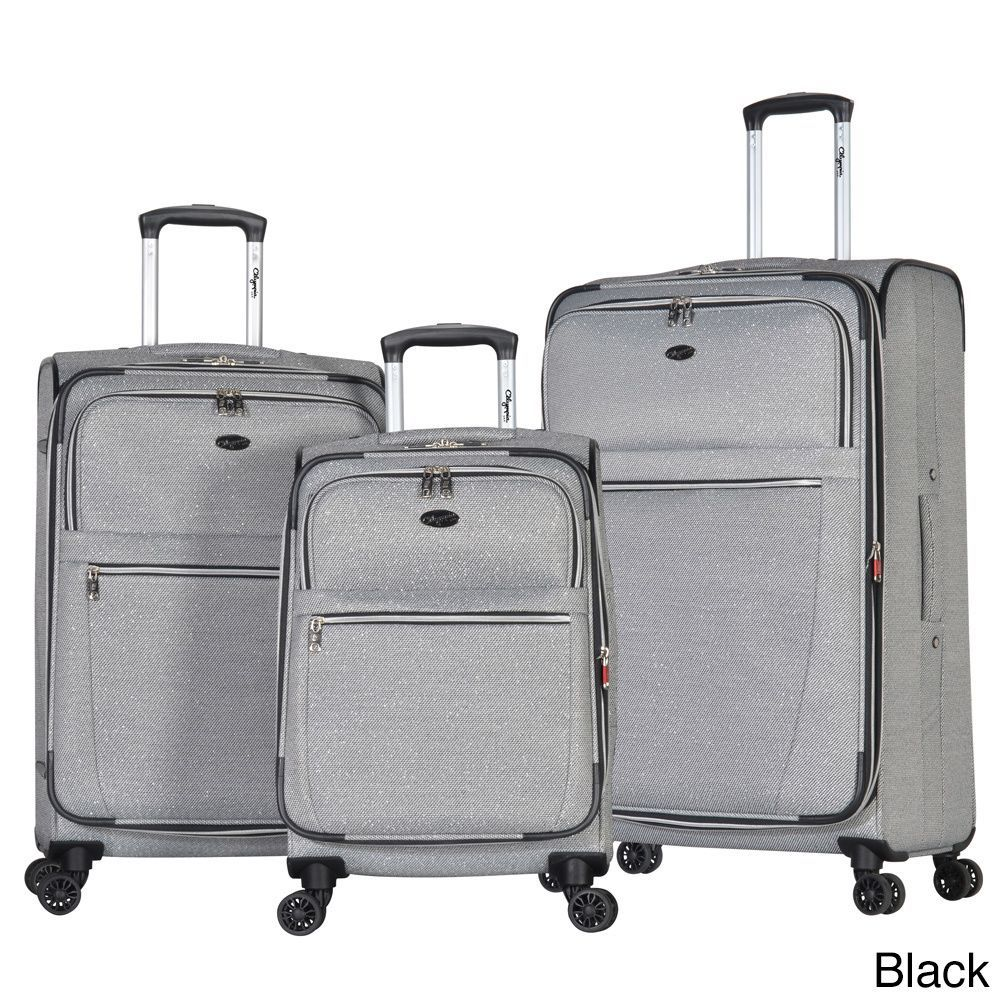Olympia Chandler Expandable Spinner Luggage