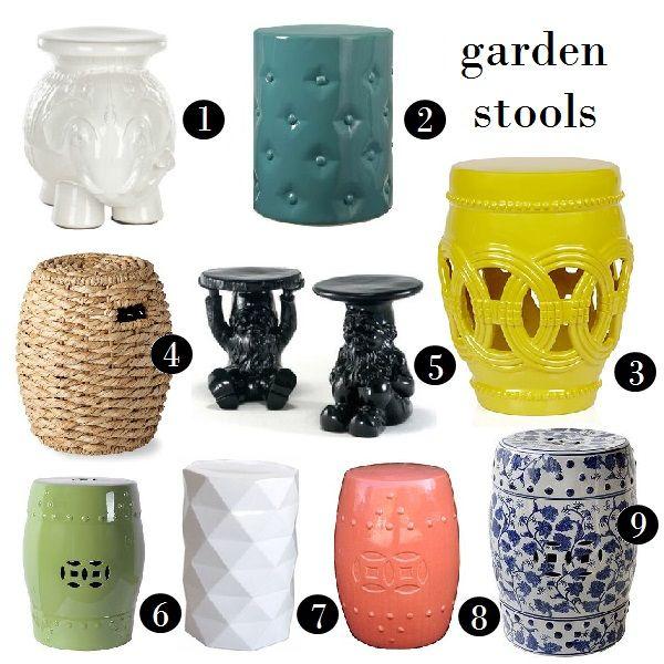 Decoration Inspiration Garden Stools Decorating Home Homedecor