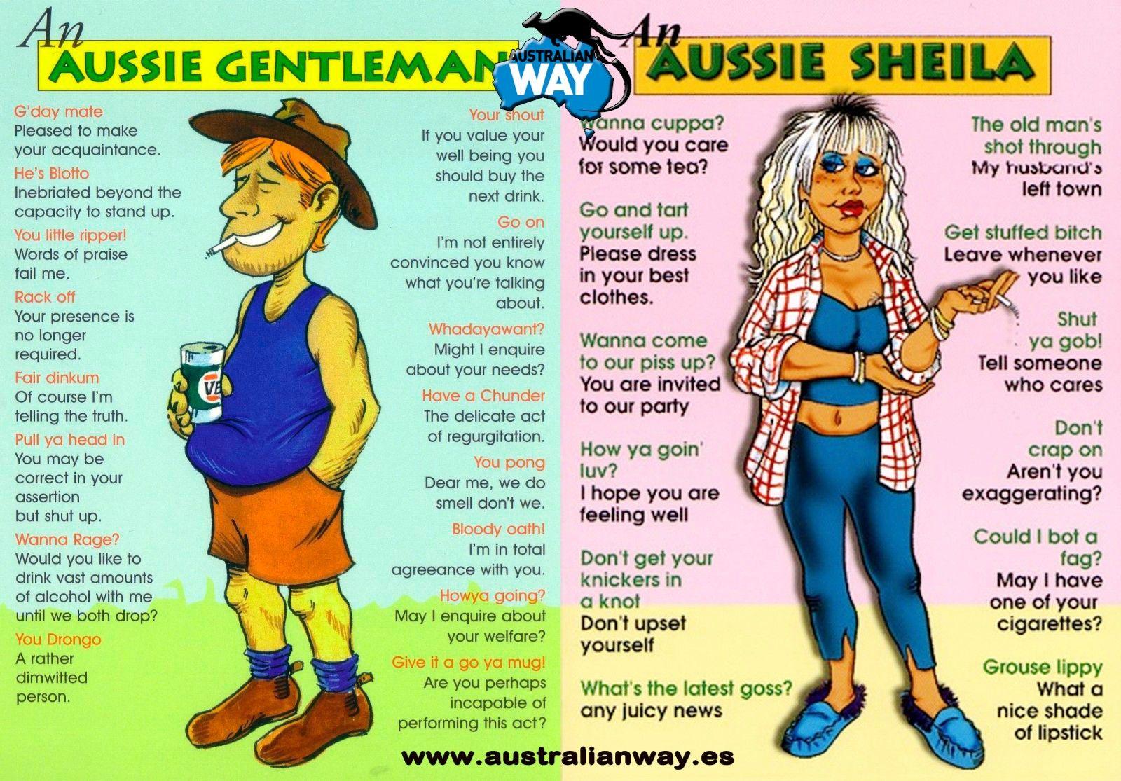 how to speak australian english
