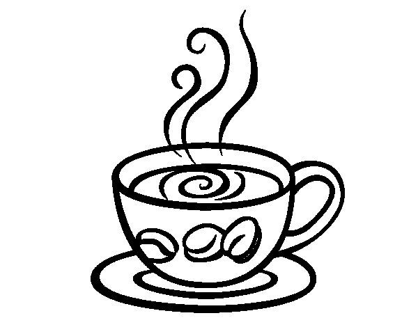 Espresso Coffee Coloring Page Free Coloring Pages Coloring
