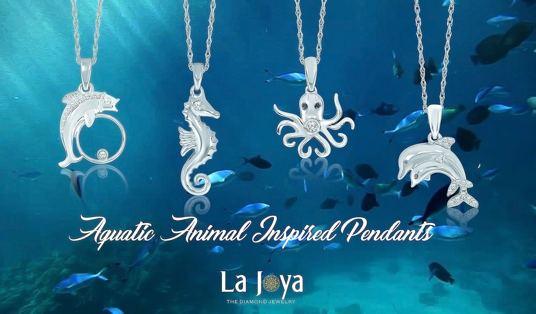 Show your love towards aquatic animals by wearing one la joya show your love towards aquatic animals by wearing one la joya aquatic animal inspired aloadofball Gallery