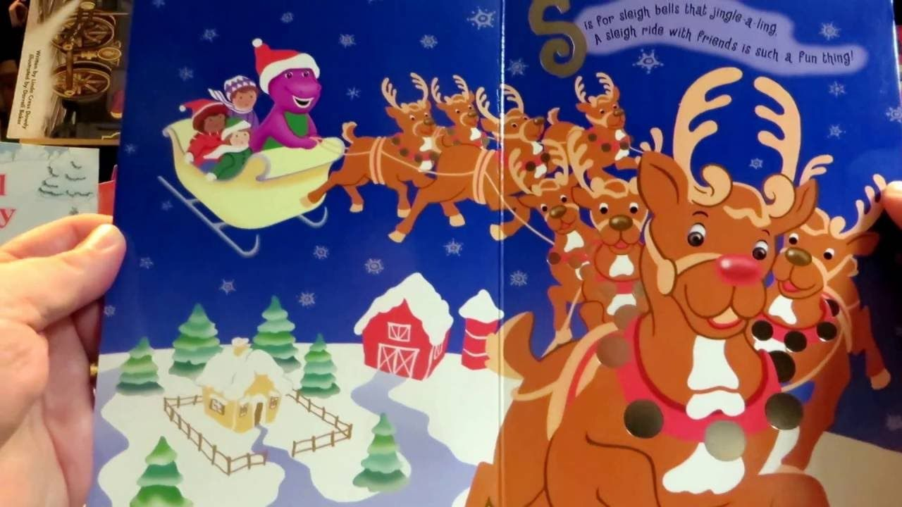 Barney\'s C Is For Christmas, 2001, It is fun to Read with Barney ...