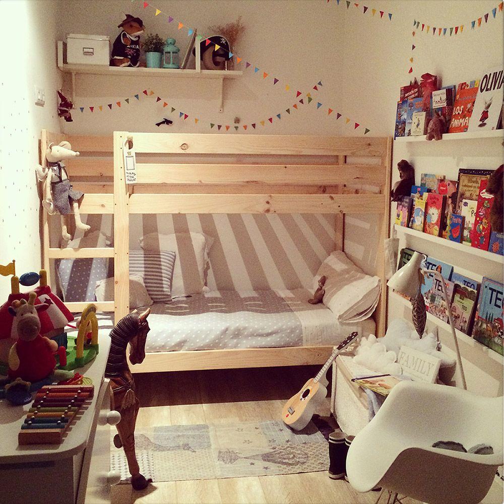 Teo en la litera lufe kids deco - Habitaciones infantiles tematicas ...