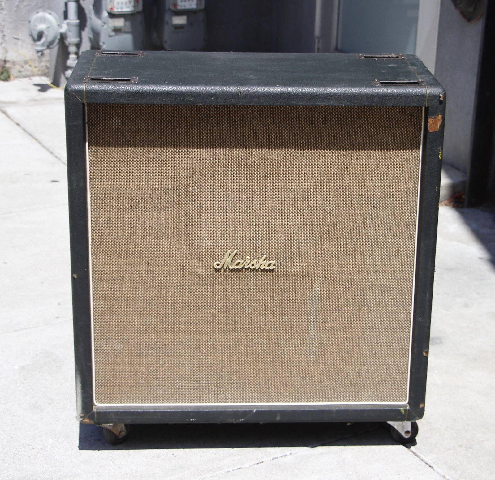 1968 Marshall 1982B 100 Watt 4X12 Straight Front Cab T1281 ...