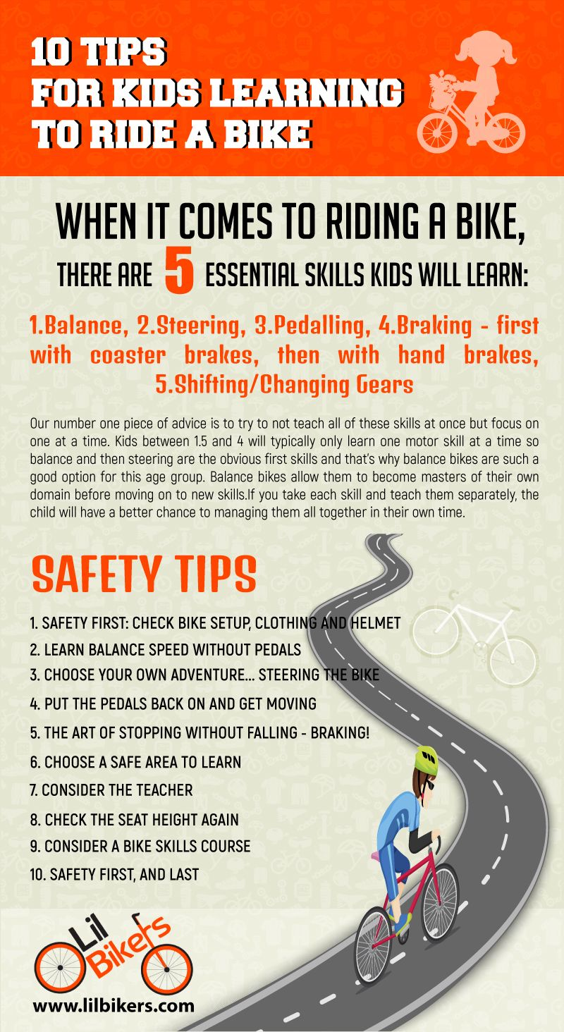 10 Tips For Kids Learning To Ride A Bike If You Find Yourself