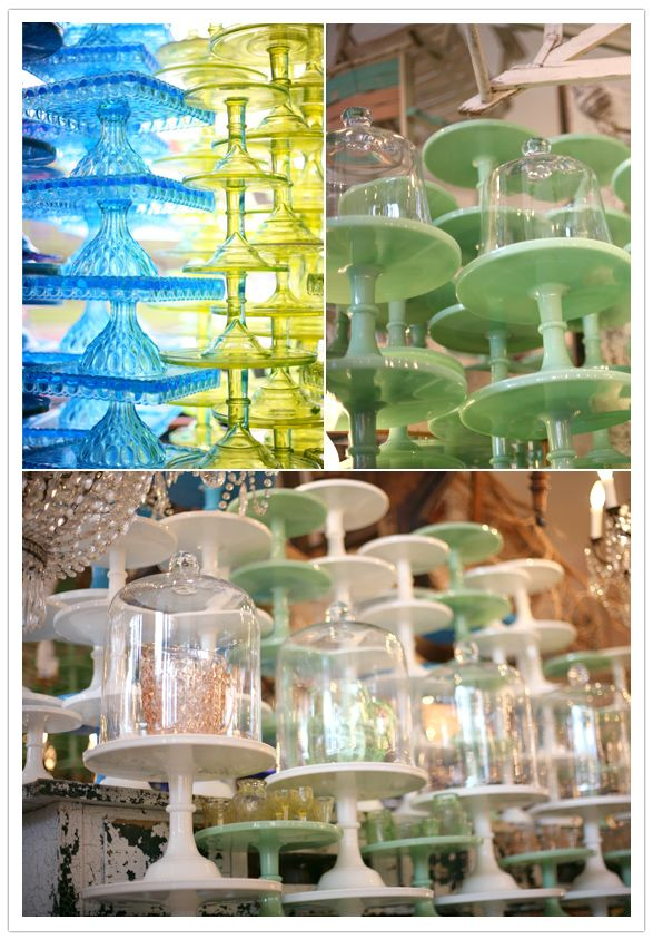 Bountiful on Abbot Kinney - this was one of my favorite shops when living in Venice, CA. Beautiful cake stands.