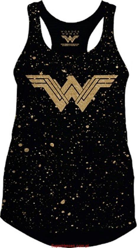 c75c352dc Tank Wonder Woman Camisa De La Mujer Maravilla