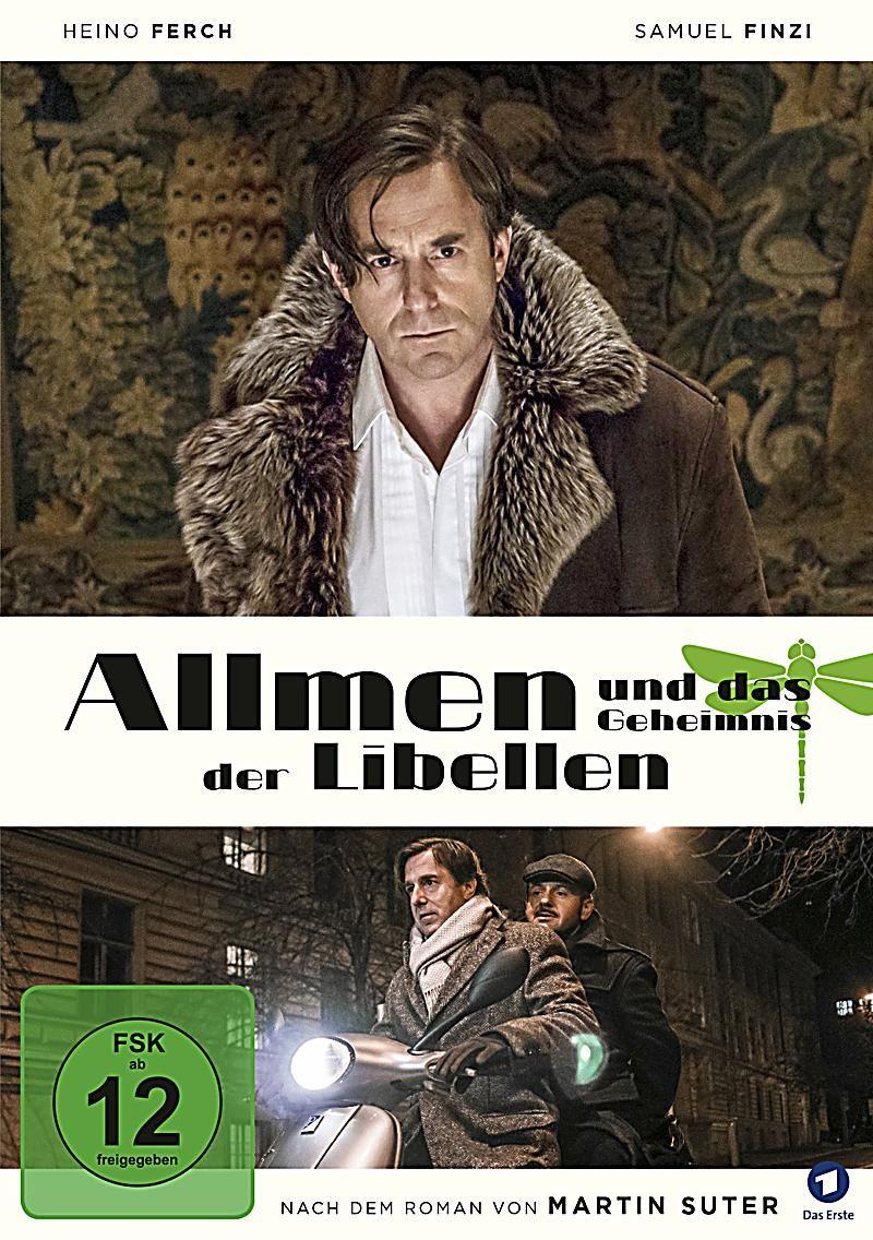 Allmen Und Das Geheimnis Der Libellen Dvd In 2020 Geheimnis Heino Ferch Und Filme