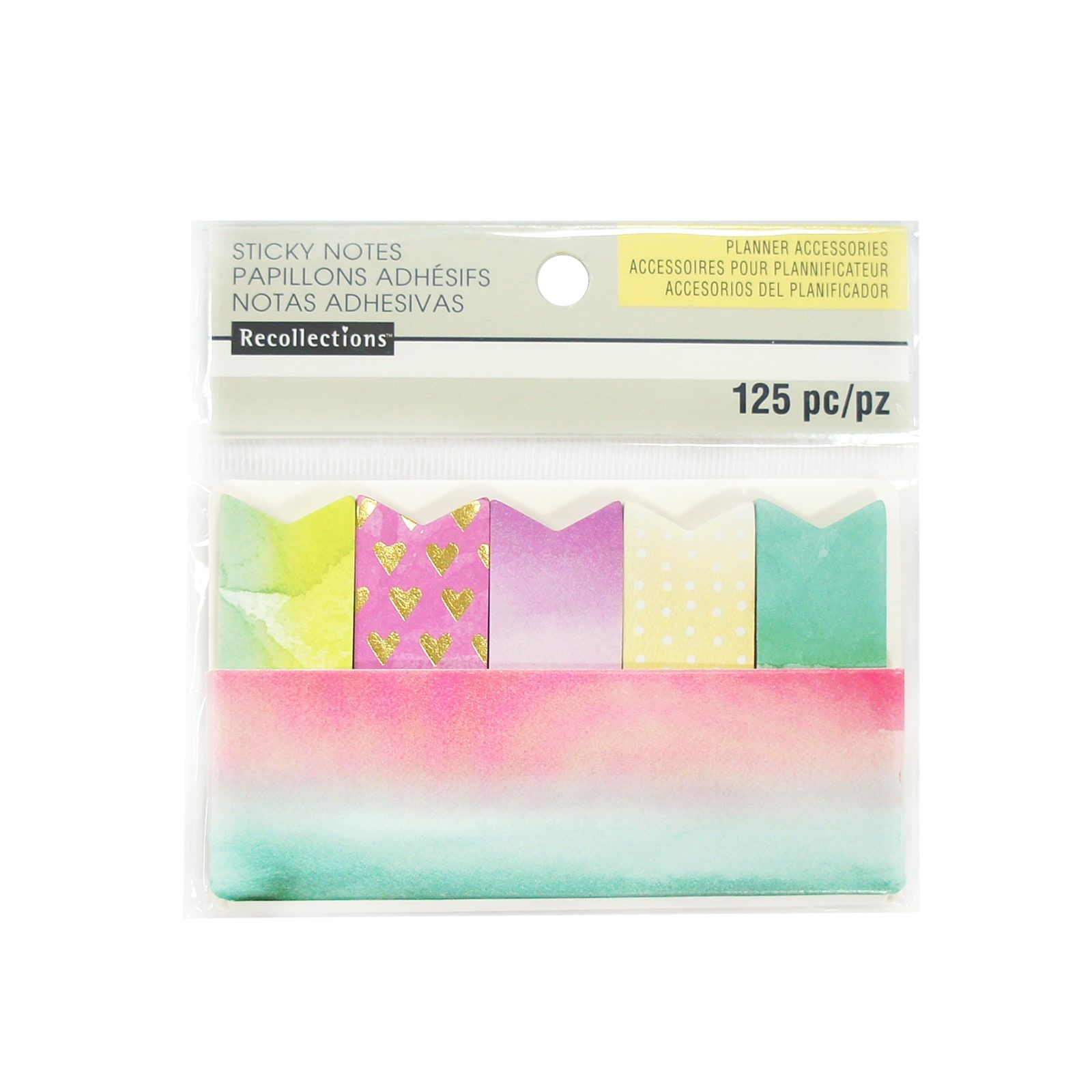 Find The Watercolor Sticky Note Flags By Recollections At