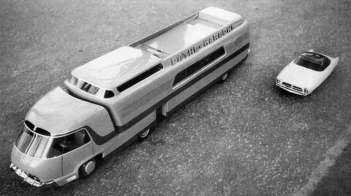 Something From France Truck Design Commercial Vehicle Retro Bus