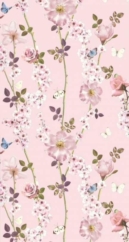 Shabby Chic Wallpaper Iphone Pink Floral Wallpapers 18+ Ideas For 2019