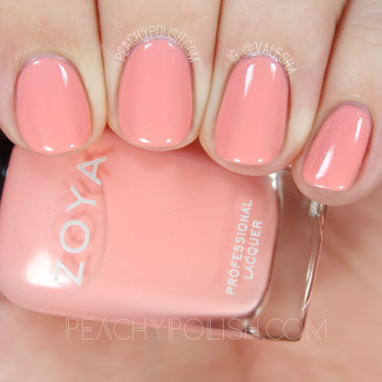 Hola Today I Have Zoya S Spring Collection For 2016 To Share With You Let S Get Right To It Laurel Is A Light Coral Pink Nails Nails Now Coral Nail Polish